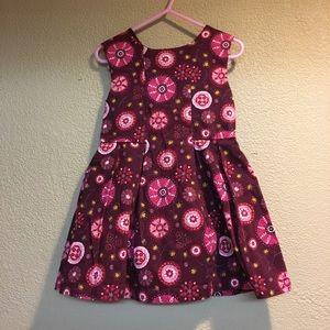 OshKosh deep plum 3T dress